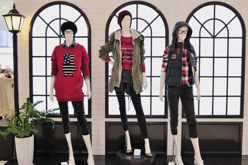 μανεκέν μόδας παρουσίαση&sig στοκ εικόνα