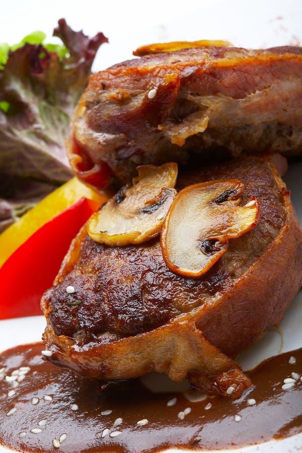 μανιτάρια κρέατος στοκ εικόνες με δικαίωμα ελεύθερης χρήσης