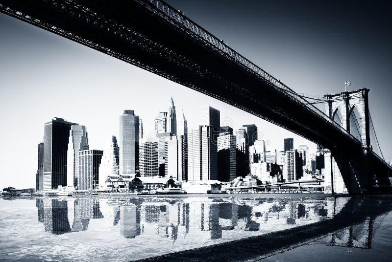 Μανχάτταν Νέα Υόρκη στοκ φωτογραφία με δικαίωμα ελεύθερης χρήσης