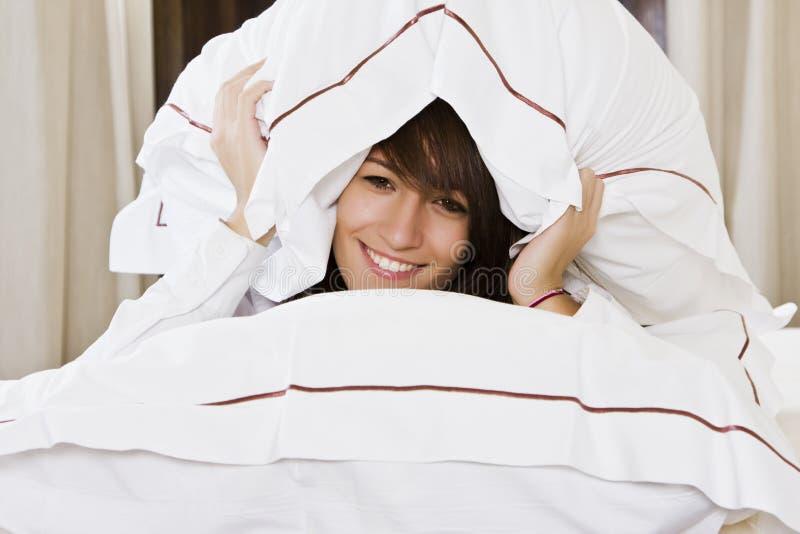 μαξιλάρια που χαμογελο στοκ εικόνα με δικαίωμα ελεύθερης χρήσης