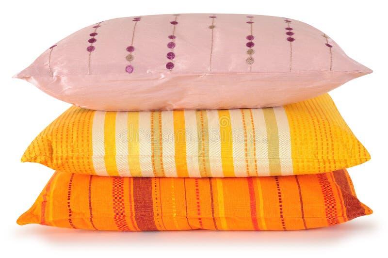 μαξιλάρια τρία στοκ εικόνα