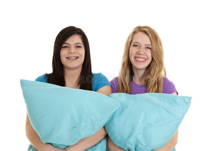 μαξιλάρια teens στοκ φωτογραφίες με δικαίωμα ελεύθερης χρήσης