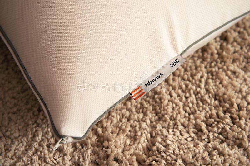 Μαξιλάρι αφρού της Ikea στοκ εικόνες