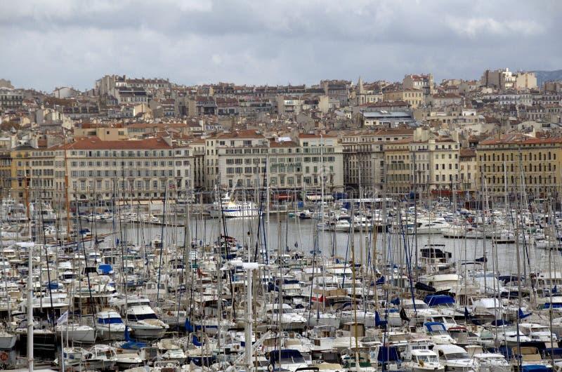 Μαρίνα στη Μασσαλία, Γαλλία στοκ φωτογραφία με δικαίωμα ελεύθερης χρήσης