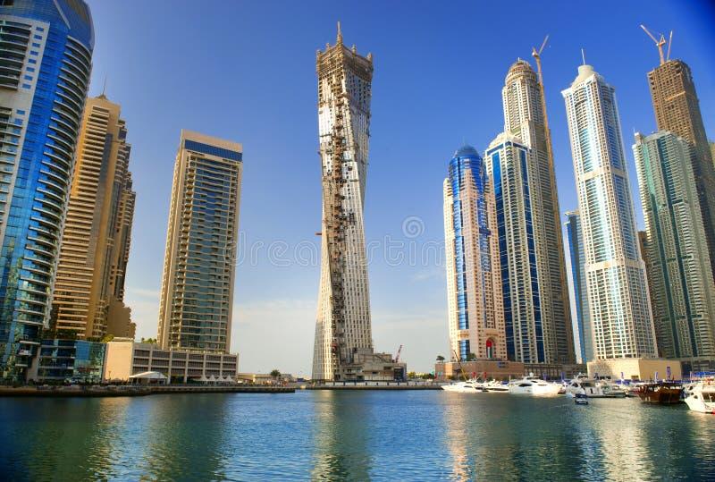 Μαρίνα του Ντουμπάι στοκ φωτογραφίες