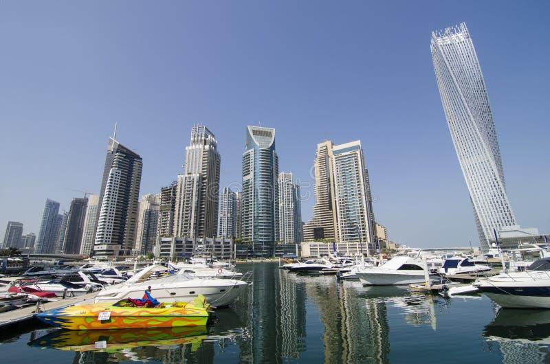 Μαρίνα του Ντουμπάι στοκ εικόνες με δικαίωμα ελεύθερης χρήσης