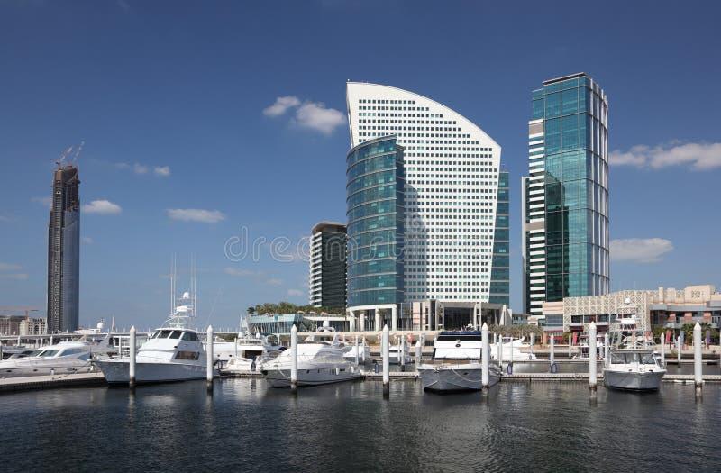 μαρίνα φεστιβάλ του Ντουμπάι πόλεων στοκ εικόνες με δικαίωμα ελεύθερης χρήσης
