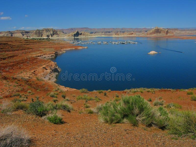 Μαρίνα Powell λιμνών στοκ φωτογραφία με δικαίωμα ελεύθερης χρήσης