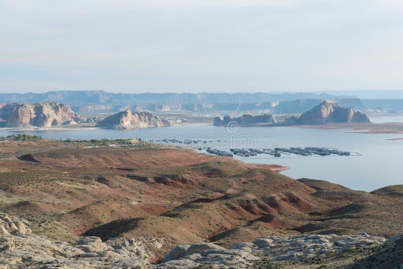 Μαρίνα Powell λιμνών στοκ εικόνες με δικαίωμα ελεύθερης χρήσης