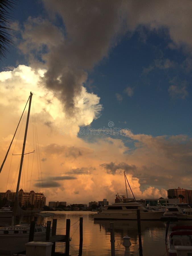 Μαρίνα Sarasota Φλώριδα στοκ φωτογραφία με δικαίωμα ελεύθερης χρήσης