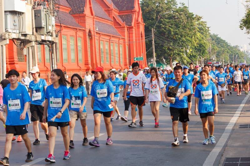 Μαραθώνιος της Μπανγκόκ στοκ φωτογραφία με δικαίωμα ελεύθερης χρήσης