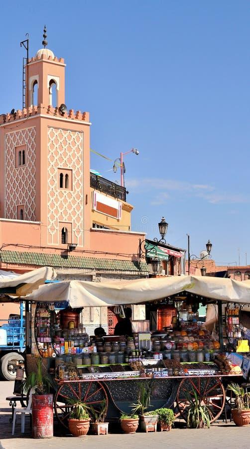 Μαρακές Μαρόκο στοκ εικόνες με δικαίωμα ελεύθερης χρήσης