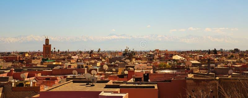 Μαρακές Μαρόκο στοκ εικόνα με δικαίωμα ελεύθερης χρήσης