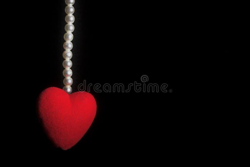 μαργαριτάρια καρδιών στοκ φωτογραφία με δικαίωμα ελεύθερης χρήσης
