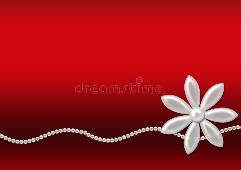 μαργαριτάρια λουλουδ&iot διανυσματική απεικόνιση