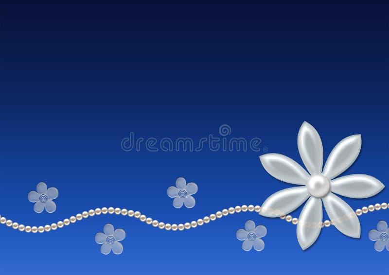 μαργαριτάρια λουλουδ&iot ελεύθερη απεικόνιση δικαιώματος