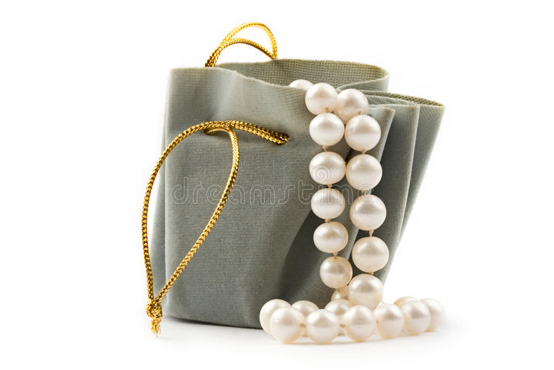 μαργαριτάρι δώρων κιβωτίων στοκ φωτογραφία με δικαίωμα ελεύθερης χρήσης