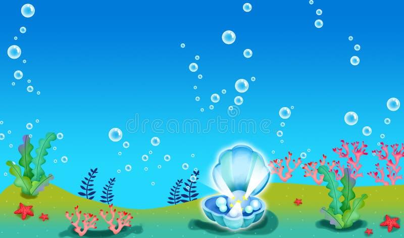 Download μαργαριτάρι κοραλλιών απεικόνιση αποθεμάτων. εικονογραφία από βακκινίων - 13176734