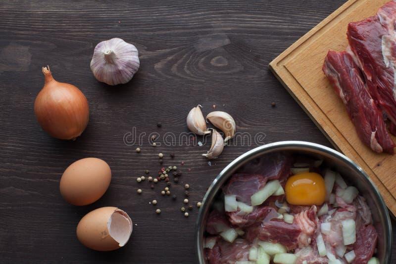 Μαρινάρισμα για το κρέας στοκ φωτογραφία