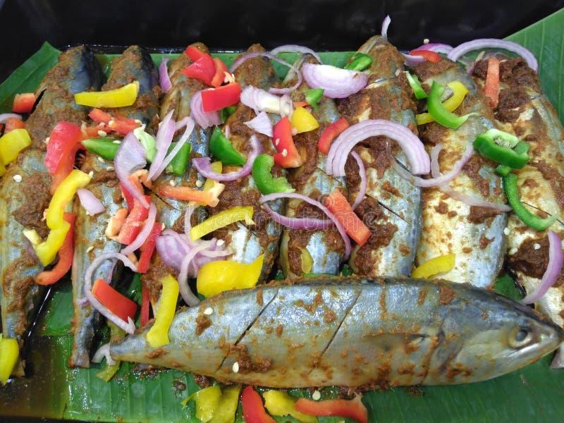 Μαριναρισμένα ψάρια στοκ εικόνα