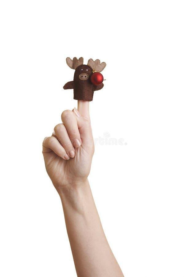 μαριονέτα δάχτυλων στοκ φωτογραφία