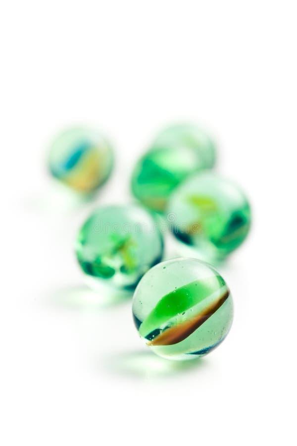 Μαρμάρινες σφαίρες γυαλιού στοκ εικόνες με δικαίωμα ελεύθερης χρήσης