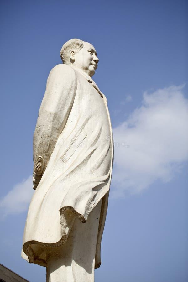 μαρμάρινο άγαλμα mao προέδρο&upsi στοκ εικόνες με δικαίωμα ελεύθερης χρήσης