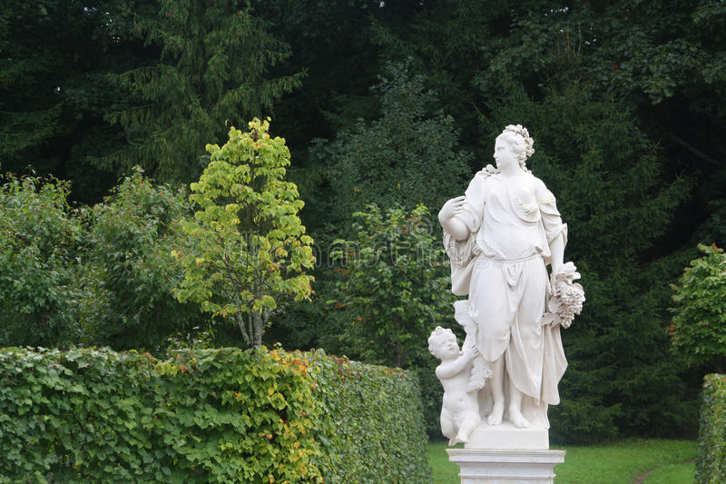 Μαρμάρινο άγαλμα στοκ φωτογραφίες με δικαίωμα ελεύθερης χρήσης