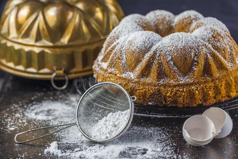 Μαρμάρινο κέικ στοκ φωτογραφίες με δικαίωμα ελεύθερης χρήσης