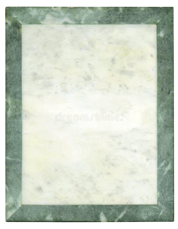 μαρμάρινο πιάτο πλαισίων στοκ φωτογραφίες