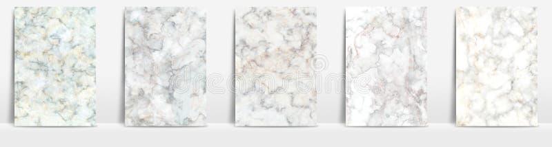 Μαρμάρινο συλλογής αφηρημένο σχεδίων υπόβαθρο κρέμας σύστασης άσπρο διανυσματική απεικόνιση
