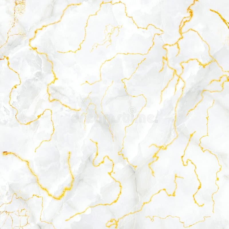 Μαρμάρινο υπόβαθρο, μαρμάρινη χρυσή σύσταση φλεβών, μαρμάρινη ταπετσαρία, για την εκτύπωση, σχέδιο των περιπτώσεων καρτών και άλλ απεικόνιση αποθεμάτων