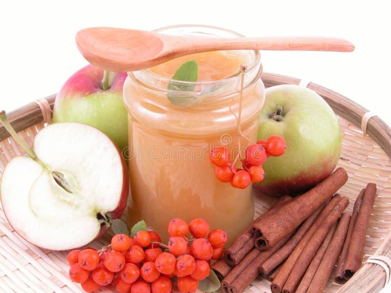 μαρμελάδα μήλων στοκ εικόνα