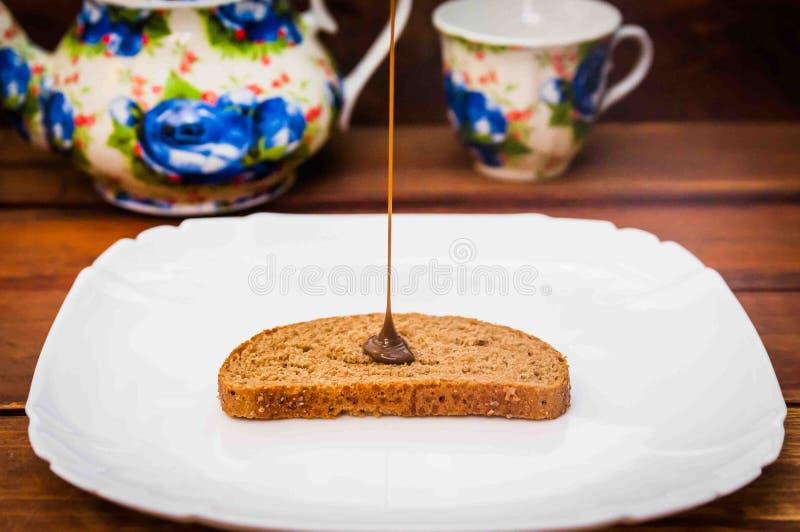 Μαρμελάδα σοκολάτας στοκ εικόνες με δικαίωμα ελεύθερης χρήσης