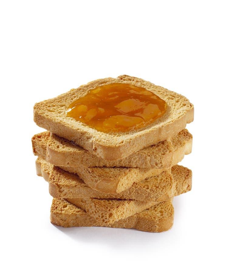 μαρμελάδα ψωμιού που ψήνε&t στοκ φωτογραφία με δικαίωμα ελεύθερης χρήσης
