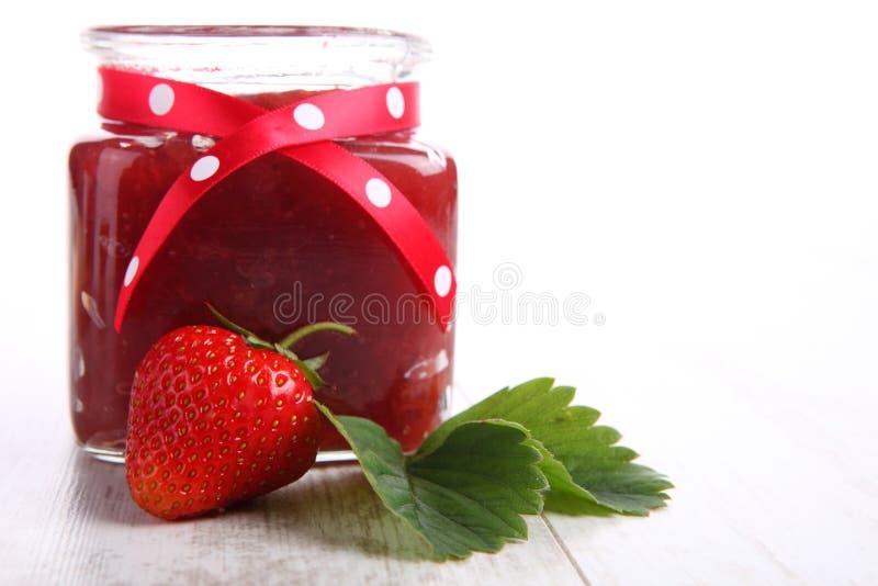 Μαρμελάδα φραουλών στοκ εικόνες με δικαίωμα ελεύθερης χρήσης