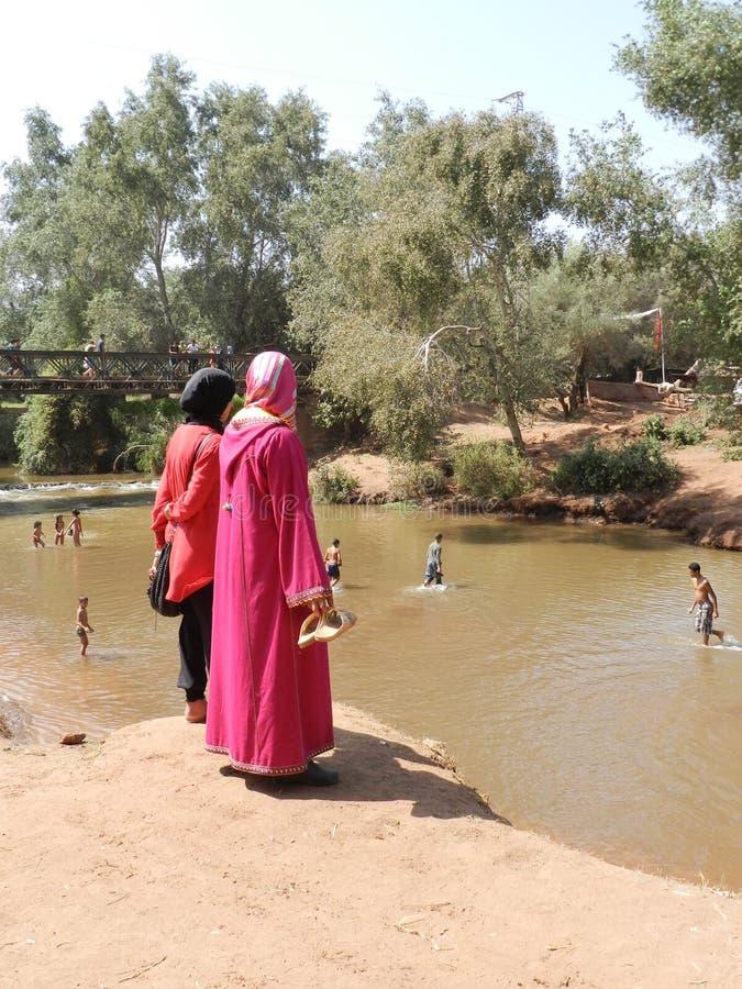 Μαροκινές γυναίκες στοκ φωτογραφίες με δικαίωμα ελεύθερης χρήσης