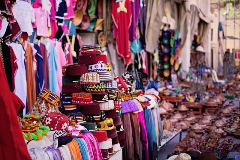Μαροκινή αγορά στοκ φωτογραφίες με δικαίωμα ελεύθερης χρήσης