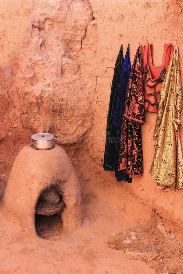 Μαροκινή σόμπα ψαμμίτη στοκ φωτογραφία