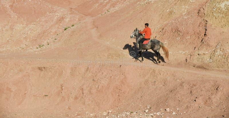 Μαροκινός αναβάτης στοκ φωτογραφίες με δικαίωμα ελεύθερης χρήσης