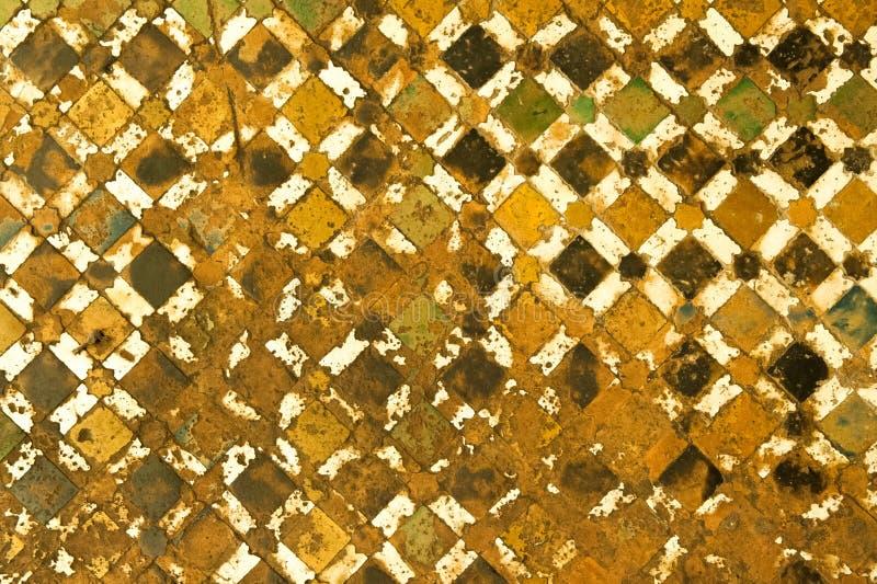 Μαροκινό εκλεκτής ποιότητας υπόβαθρο κεραμιδιών ελεύθερη απεικόνιση δικαιώματος