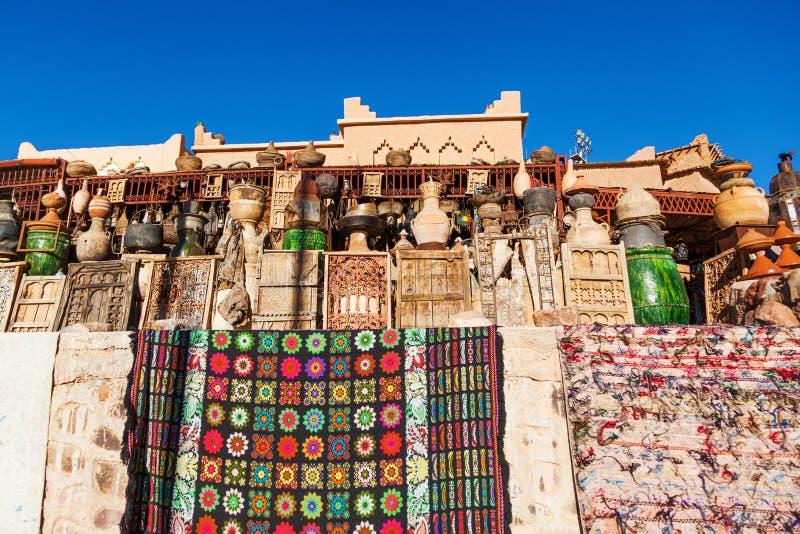 Μαροκινό κατάστημα στοκ εικόνες