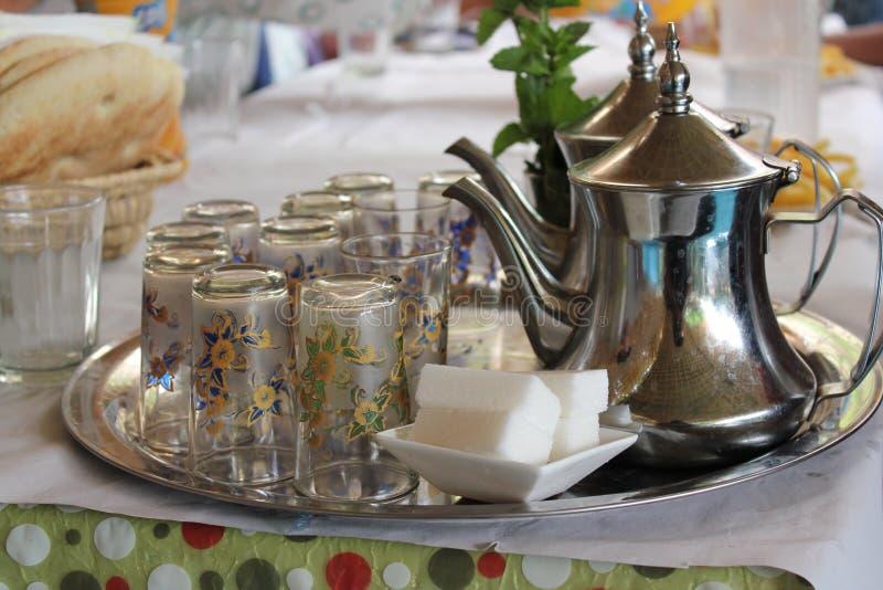 Μαροκινό τσάι ανατολικά Μαρόκο στοκ φωτογραφία με δικαίωμα ελεύθερης χρήσης