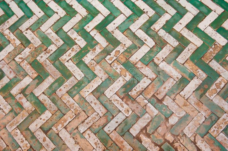 Μαροκινό υπόβαθρο κεραμιδιών απεικόνιση αποθεμάτων