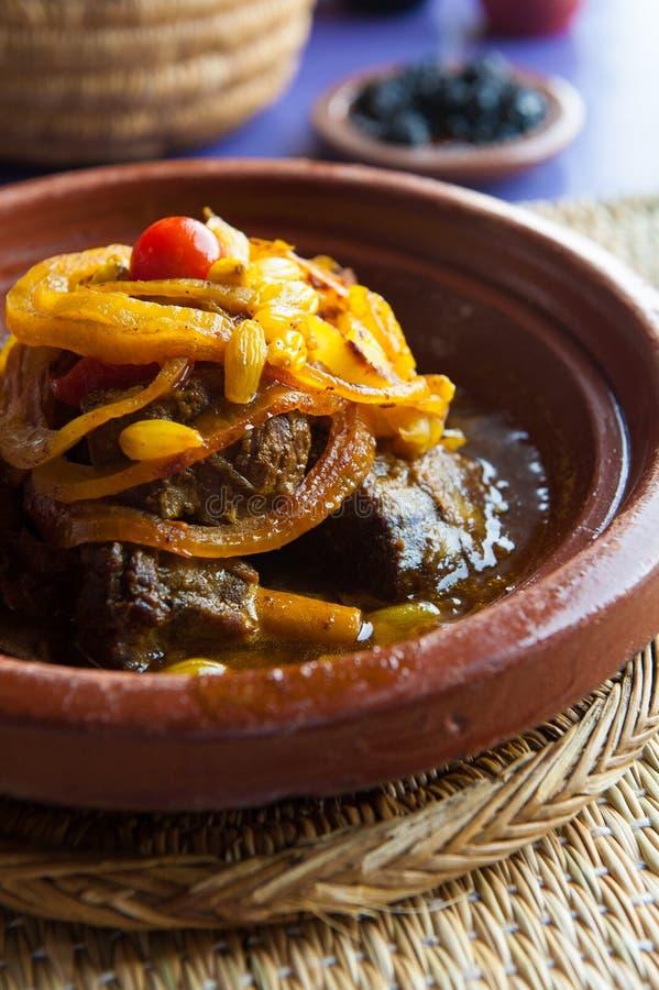 Μαροκινό tagine στοκ εικόνες με δικαίωμα ελεύθερης χρήσης