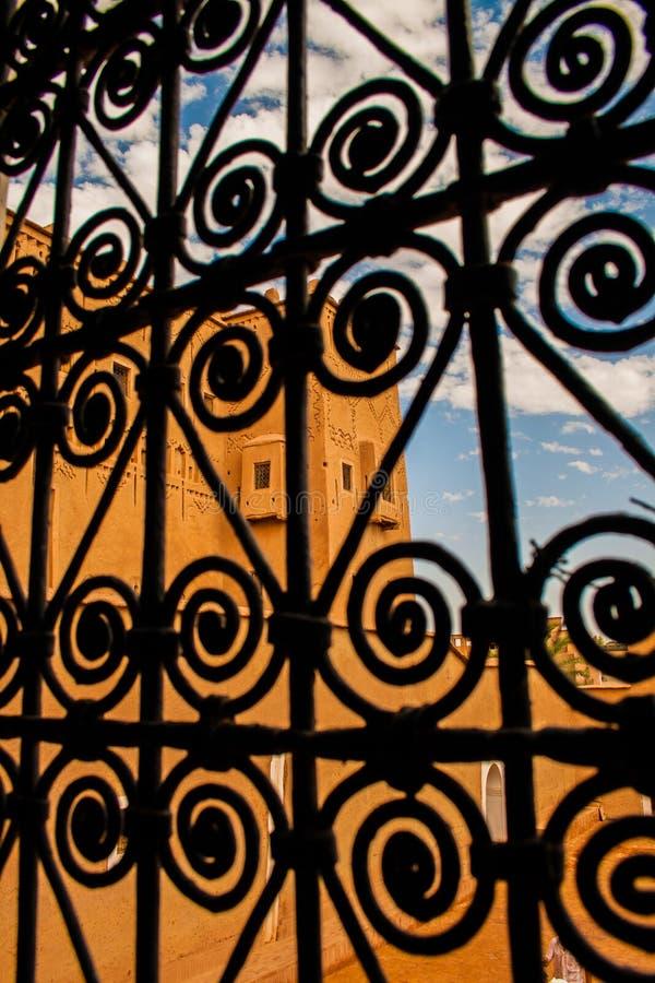 Μαροκινό tipical kasbah στοκ εικόνα με δικαίωμα ελεύθερης χρήσης