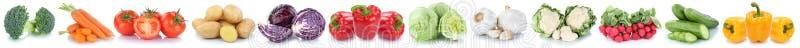 Μαρούλι αγγουριών πιπεριών κουδουνιών ντοματών καρότων λαχανικών vegetab στοκ φωτογραφία