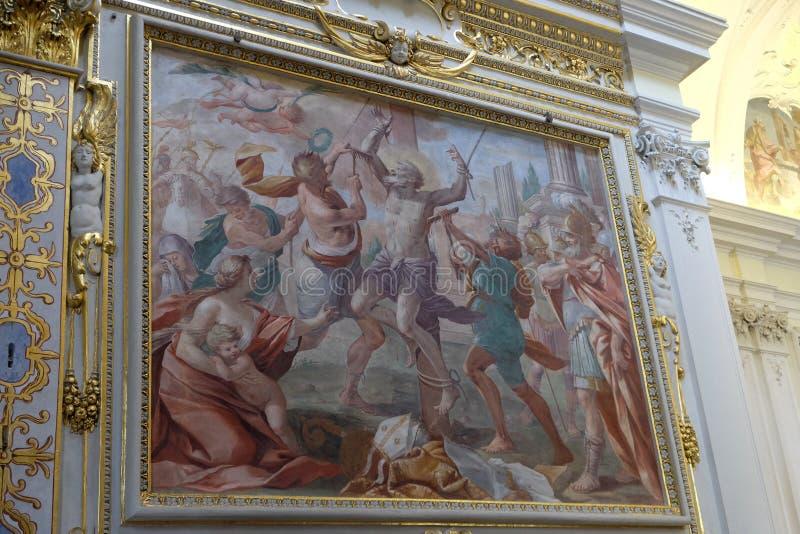 Μαρτύριο του ST Biagio στοκ εικόνες με δικαίωμα ελεύθερης χρήσης