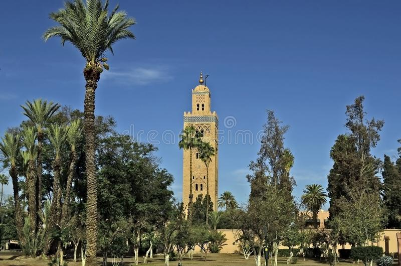 Μαρόκο, Μαρακές στοκ εικόνα