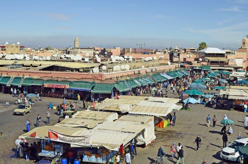 Μαρόκο, Μαρακές στοκ εικόνες με δικαίωμα ελεύθερης χρήσης